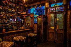 Old Irish Pub Art Print by Johnny Griffin - X-Small Pub Design, Lounge Design, Irish Pub Decor, Vinyl Cafe, Pub Interior, Interior Design, Irish Bar, Speakeasy Bar, Outdoor Buildings