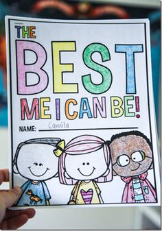 The Best Me I Can Be book...cute way to reinforce beginning of the year rules
