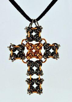 japanese cross pendant