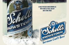 Schell's Releases Wallonian-Style Brown Ale in Snowstorm Series