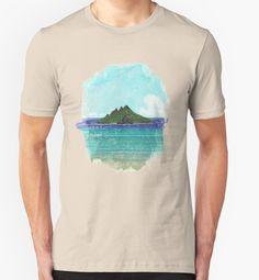"""Lost Island"" T-Shirts & Hoodies by Lidra | Redbubble"