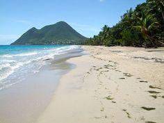 Plage du diamant, Martinique #martinique #plage