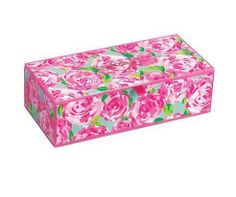 Lilly Pulitzer Small Glass Storage Box in First Impression