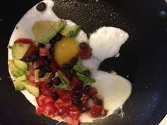 Clean Eating Breakfast- Southwest Egg Scramble