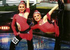 Tanečné kostýmy. Duo disco dance costumes. #dance #dancecostume #discodance #tanec #fashion #dancesport