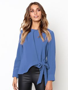 Cooperative Women V-neck Lace Up Bandage Puff Lantern Sleeve Bow Shirt Casual Elastic Slim High Waist Love Heart Pullover Ruffle Blouse Tops Back To Search Resultswomen's Clothing