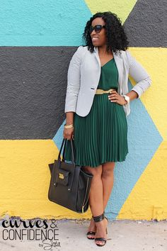 Curves and Confidence | A Miami Style Blogger: Sweet Pleats