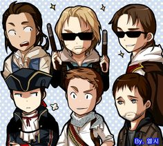 The characters by ellsy1220 on DeviantArt