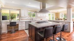 High End Kitchen Remodel with Island