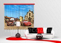 Cars fotoprint gordijnen, prachtige kwaliteit. Geschikt voor een ...