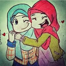 tesettürlü kız çizim Drawings Of Friends, Cartoon Sketches, School Memories, Couple Cartoon, Sister Love, Screen Wallpaper, Mandala, Girly, Clip Art
