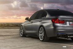 BMW F30 335i With VMR V804 Hyper Silver Wheels