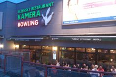 Esta fue mi favorito restaurante con bowling.