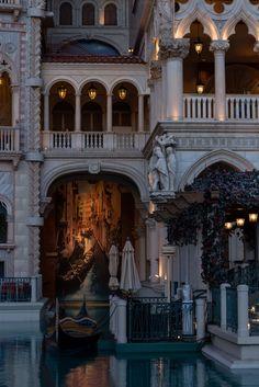 Las Vegas. The Venetian. Romanticism.