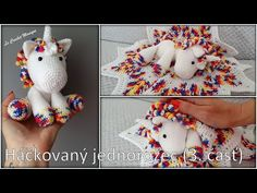 Mojkáčik - Jednorožec - 3. časť/Cuddle Unicorn part 3 (english subtitles) - YouTube Cuddle, Unicorn, It Cast, Crochet Hats, Teddy Bear, English, Toys, Youtube, Animals
