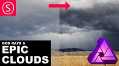 Easy guide to create dramatic clouds and god rays from any cloudy sky. I will show you how to use blend ranges, blend modes and masks to make clouds stand ou. Photography Software, Photography And Videography, Photography Tutorials, Cloud Tutorial, Gimp Tutorial, Free Photoshop, Photoshop Brushes, Affinity Photo Tutorial, Photo Processing