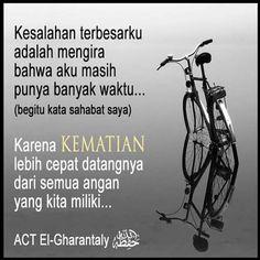 Muslim Quotes, Islamic Quotes, Learn Islam, Quotes Indonesia, Quran, Just Love, Spirituality, Advice, Yogyakarta