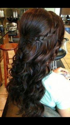 Hairstyle for my big day :)