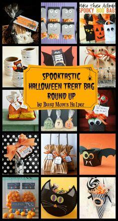 Spooktastic Halloween Treat Bag Round Up / by Busy Mom's Helper #Halloween #TreatBags
