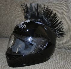 Cool Motorcycle Helmets with mohawk | Helmets With Mohawks