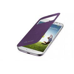 Funda S-View Cover Galaxy S4 i9500 - Sirius Purple