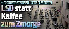 10-30 microgram LSD oder Ritalin an ETH und Uni ZH !! Uni, Photo Wall, Newspaper Headlines, Students, Oder, Economics, Switzerland, Politics, Knowledge