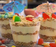 Inspired by the beach, the kids will enjoy making these sand pudding cups almost as much as they'll enjoy eating them!