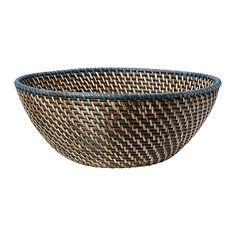 FINKORNIG Bowl - IKEA - stack of three to make my hanging basket fruit bowls...?