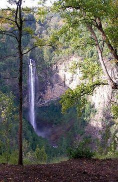 Kaledonia waterfall In Troödos Mountains, Cyprus