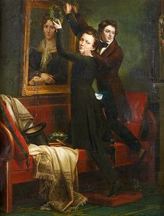 Two Brothers.  French School, 1840.