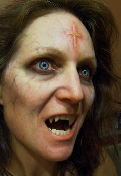 vampire makeup and vamp veneers by Rhonda Causton (Reel twisted FX)