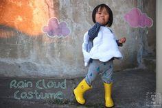 DIY A Rain Cloud Costume