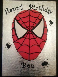 #Spiderman #cake #birthdaycake #Spidermantheme #fondant