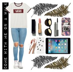 """""""come with me"""" by beautyyb ❤ liked on Polyvore featuring Vans, Paperself, MAC Cosmetics and Chanel"""