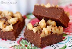 PANELATERAPIA - Blog de Culinária, Gastronomia e Receitas: Fudge de Nutella