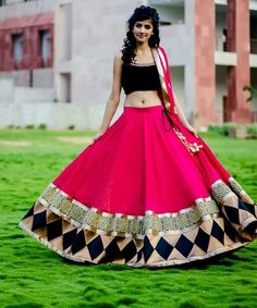 Lehenga Choli is a very unique dress from India. Do you agree?