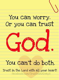 Realization of your spirit is the key to Put trust in God!