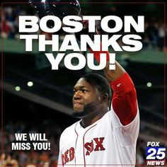 "David Ortiz ""Big Papi"" planning to retire after the upcoming 2016 season."