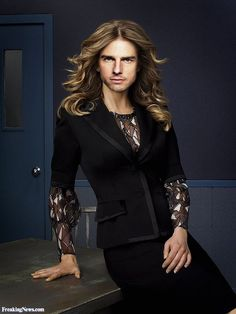 Tom Cruise as a Woman
