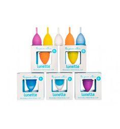 Lunette, Reusable Menstrual Cup
