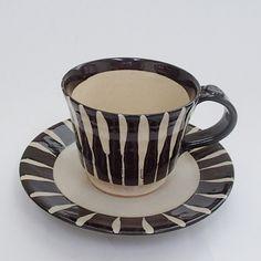 コーヒーカップソーサー 天目十草 土物 陶器 和食器 業務用食器 商品 ...