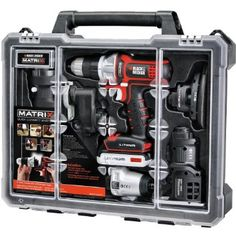 #AmazonCA #AmazonCanada: $174.99 or 57% Off: $174.99 Black & Decker Matrix 6 Tool Combo Kit with Case http://www.lavahotdeals.com/ca/cheap/174-99-black-decker-matrix-6-tool-combo/42870