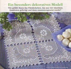 58507_da807_70047422_m750x740_u4427e Filet Crochet, Napkins, Quilts, Roses, Farmhouse Rugs, Knitted Hats, Table Toppers, Trapper Keeper, Manualidades