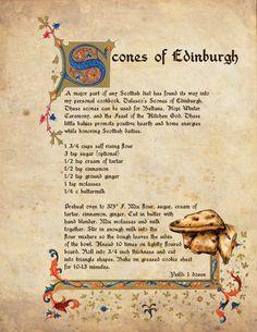 BELTANE COUNT DOWN – SCONES OF EDINBURGH RECIPE
