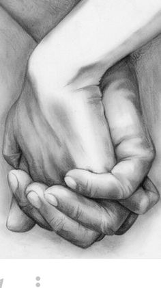Draw hands - You Must Do Cat Drawing, Drawing People, Drawing Faces, Figure Drawing, Drawing Reference, Pencil Drawings Of Love, Art Drawings Sketches, Sketches Of Love, Pencil Painting