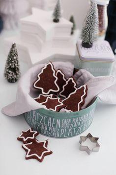 Biscotti di Natale al cioccolato - Christmas baking with depot