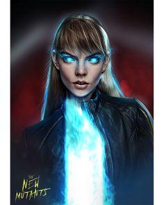 New Mutants Movie, The New Mutants, Magik Marvel, Marvel X, X Men, Fiction Movies, Art Movies, Man Illustration, Rasputin