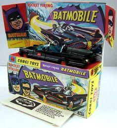 Vintage Corgi Batmobile #267