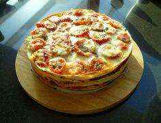 Hoofdgerecht, buffet, warm: Mexicaanse Tortillataart