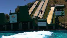 Freestyle ski lessons at Utah Olympic Park. Courtesy KUED